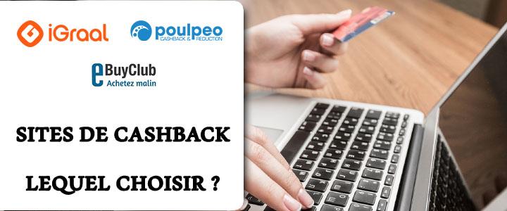 Quel sites de cashback choisir ?
