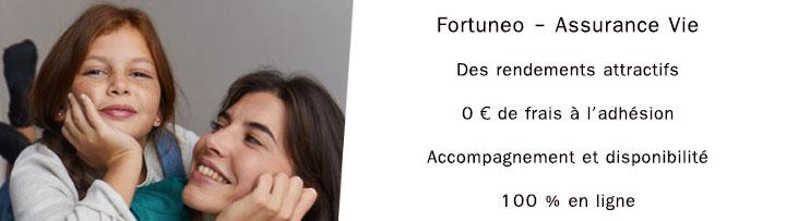 Offre assurance vie Fortuneo avis
